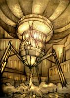 Steamtripodaracnoglobe by Cinvira