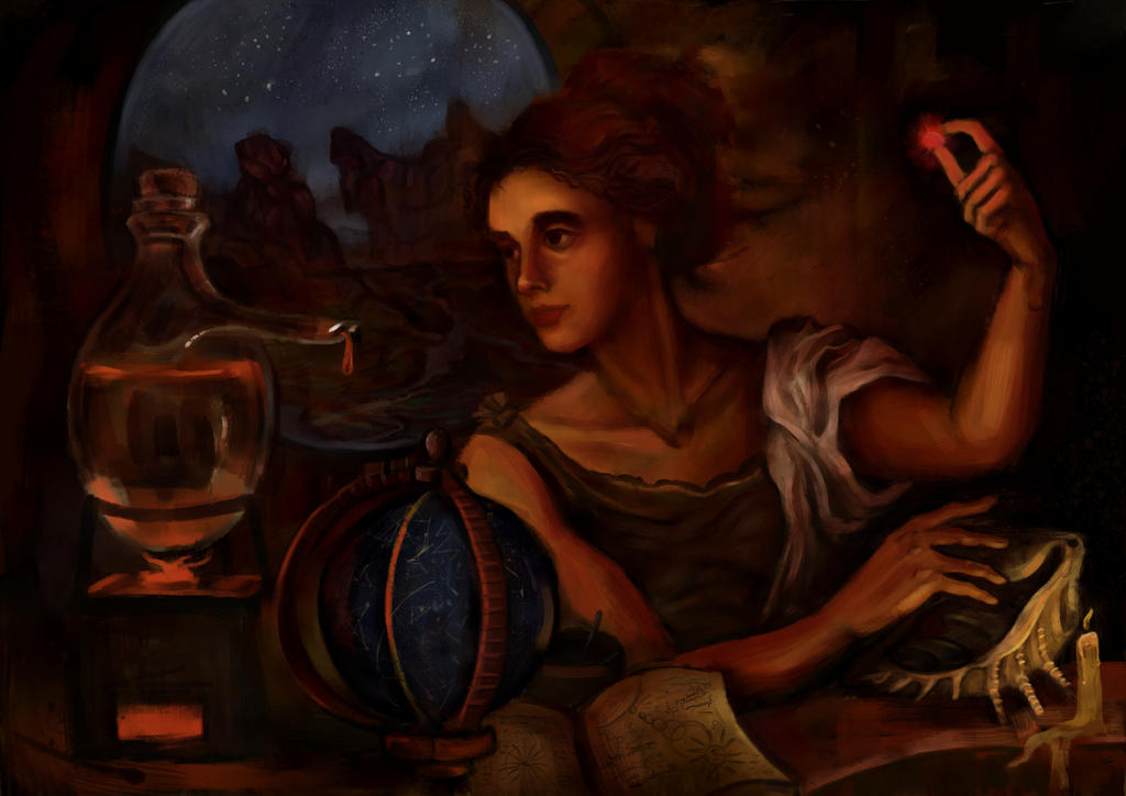 The alchemist by Cinvira