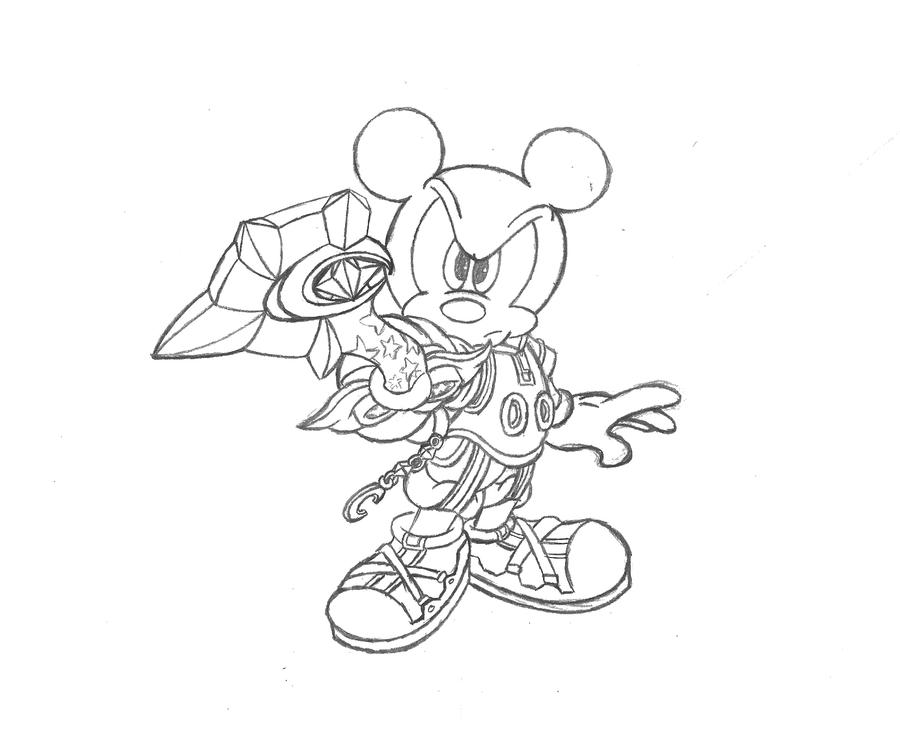Mickey Mouse - Kingdom Heart by Cloudy4 on DeviantArt