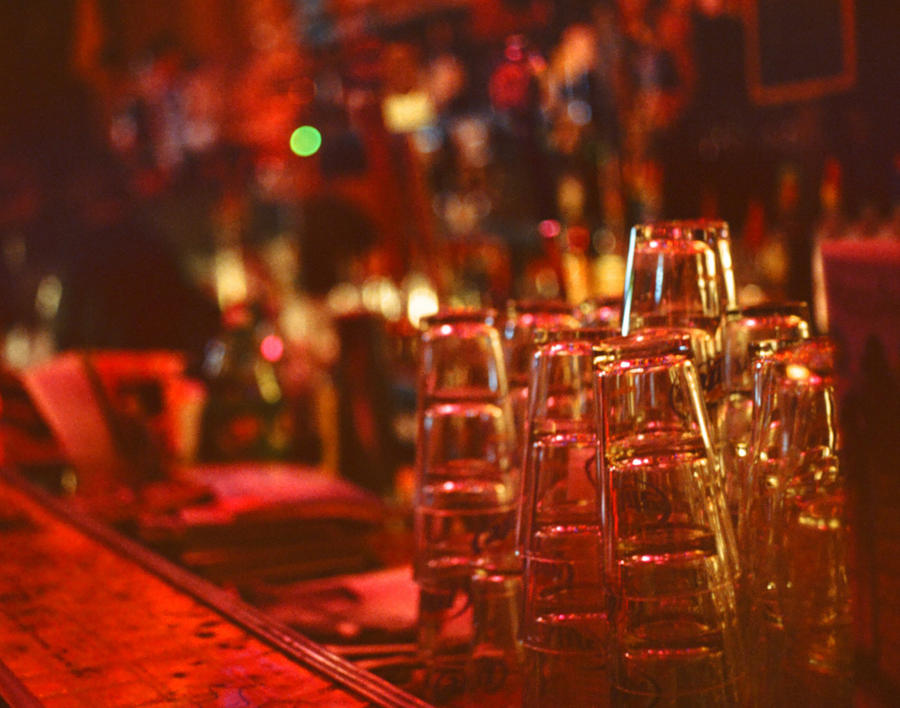 Bar Glasses by Alexinindy