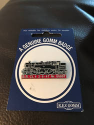 B.R standard class 4   2-6-4t   No.80097 badge  by ConnorNeedham
