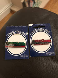 2 new loco badges to my collection  by ConnorNeedham