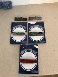5 new locomotive badges for my collection rd  by ConnorNeedham