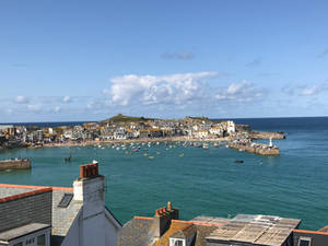 A beautiful view of st ives