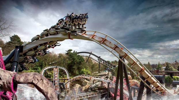 Nemesis rollercoaster description