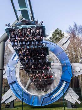 Air / galatica rollercoaster