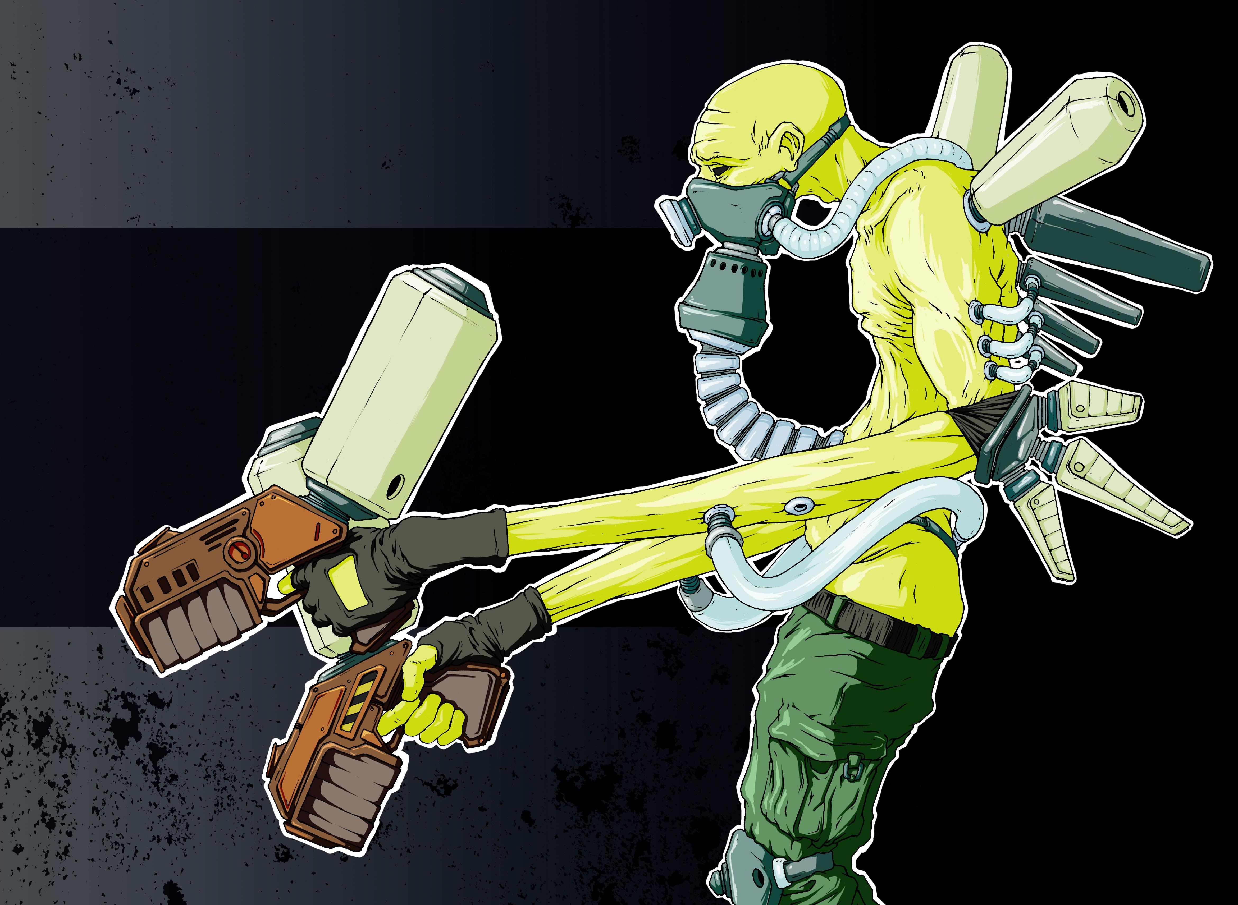 Soldier concept by Sadania