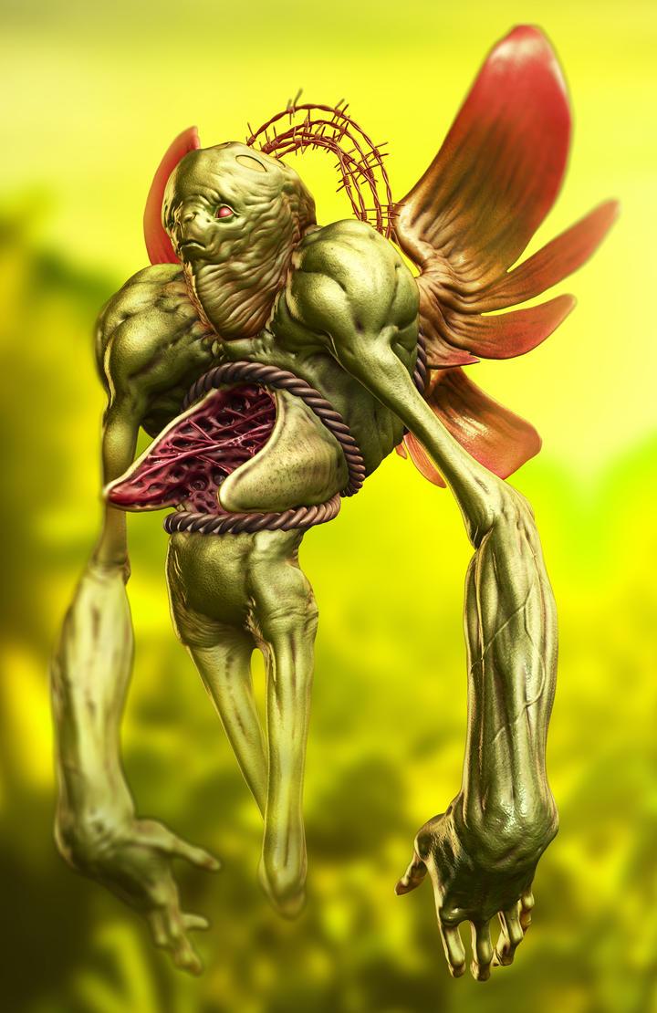 Angel by Sadania