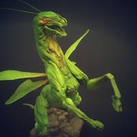 Grasshopper Horse 9 by Sadania