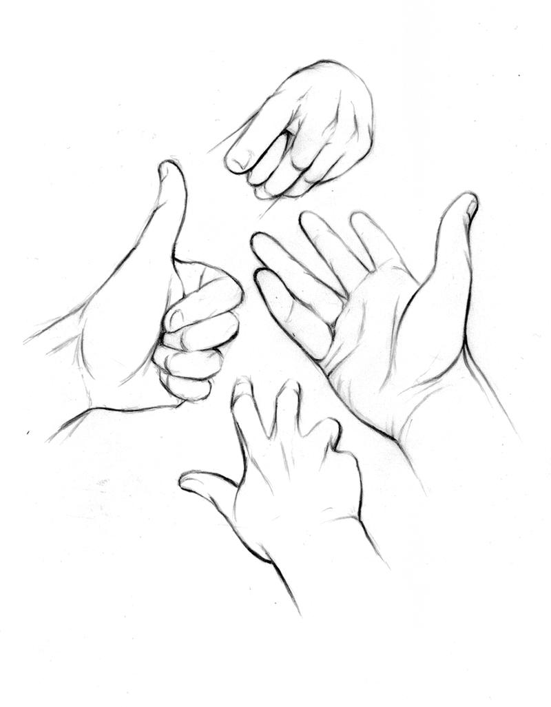 Hand Study 2 - 20130108 by StyrbjornA