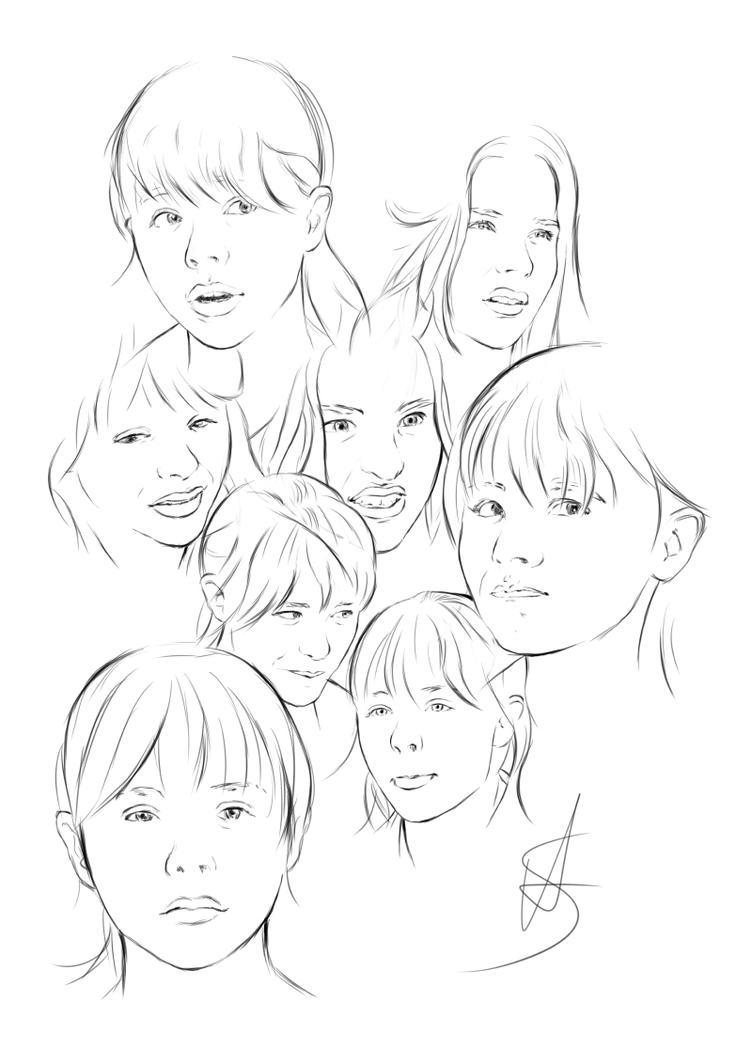 Art Facial Expressions 102