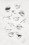 Mouths practice and reference sheet
