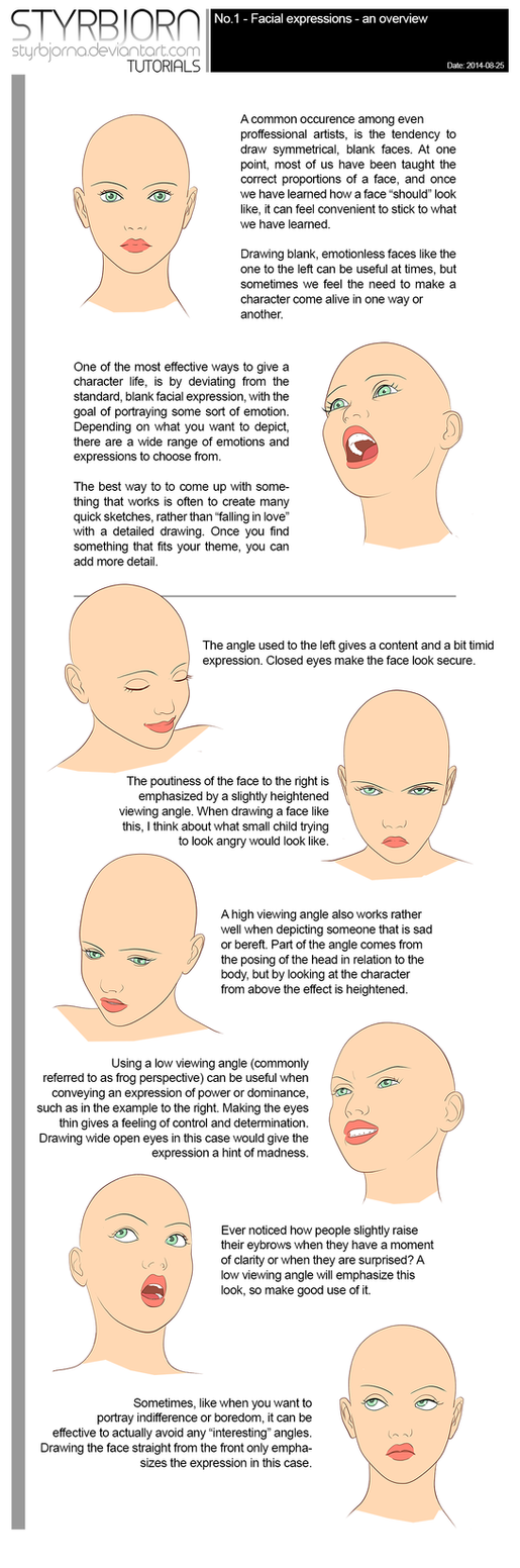 Facial Expressions - An Overview by StyrbjornA