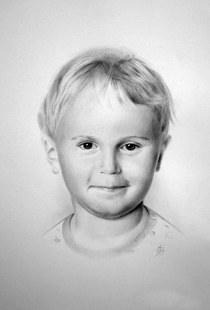 Portrait of a boy by StyrbjornA