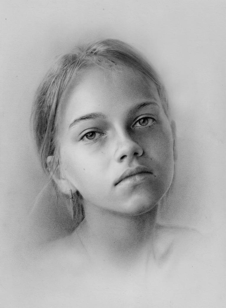 Girl portrait by StyrbjornA