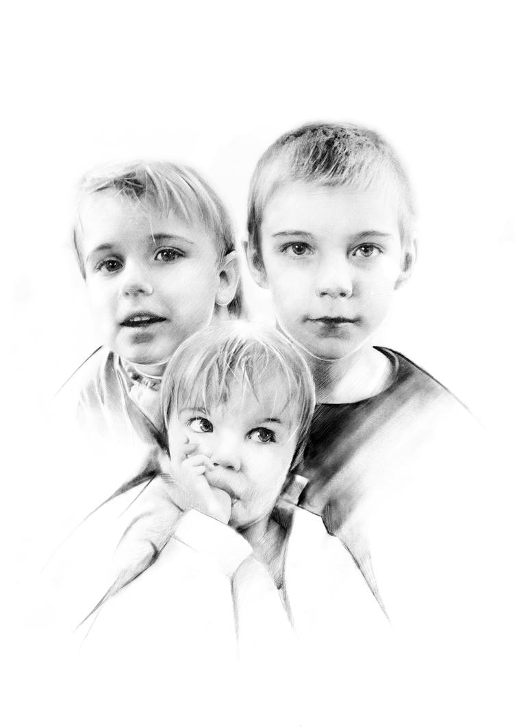 Three sons by StyrbjornA