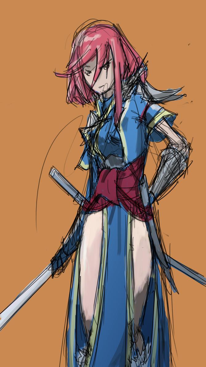 DotD 11-20-14 Swordmaster by CrowndClown