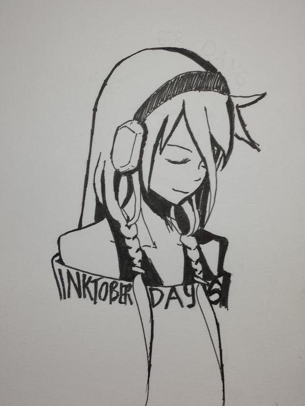 Inktober Day 6 by CrowndClown