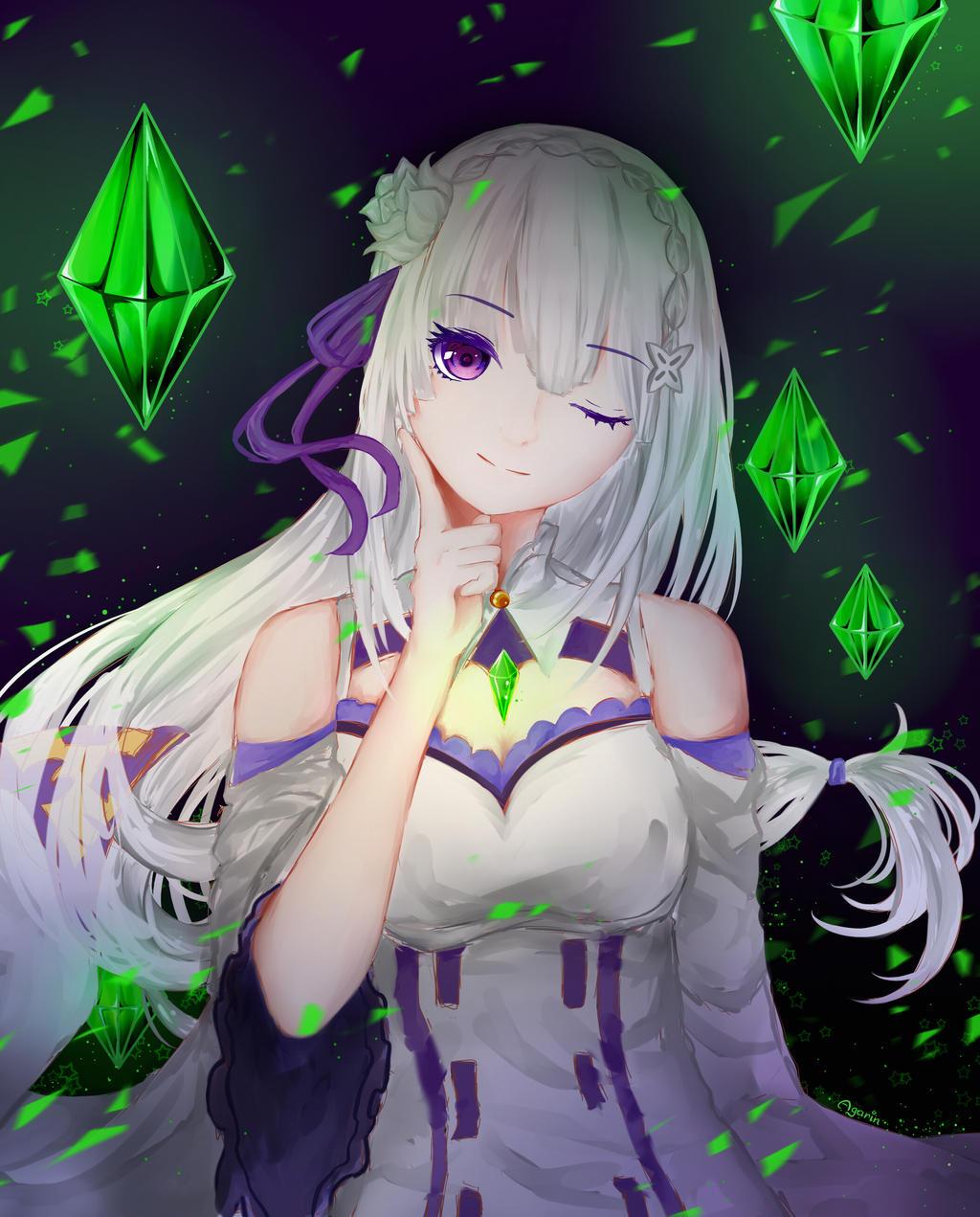 Emilia by Agarin215
