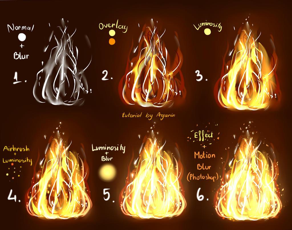 Fire tutorial by Agarin215