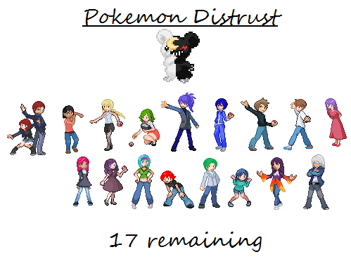 Pokemon Distrust (UPDATED 3/28) by Keiitan