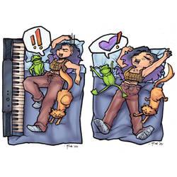 Comic 01 Piano
