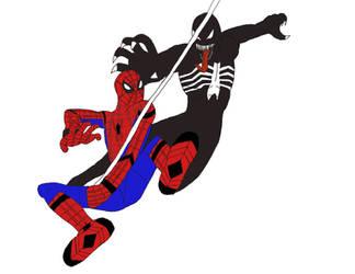 Spider-man Vs Venom by supers98