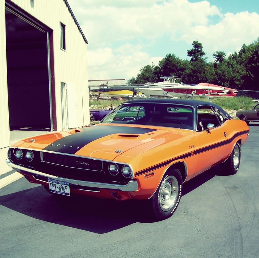 Cars Through History Timeline: Classic Dodge Challenger Timeline #1 By OkamIGrey On