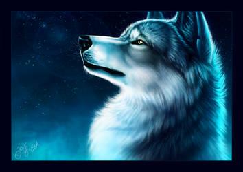 Ice Wolf by Y-Esk