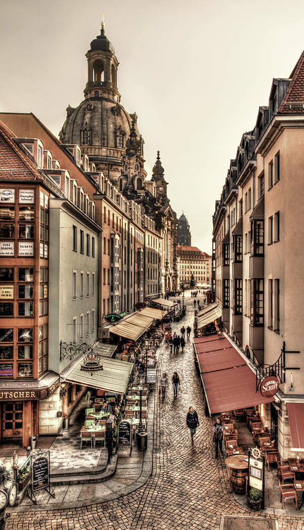 The Streets of Dresden by mrotsten