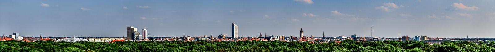 Leipzig Panorama by mrotsten
