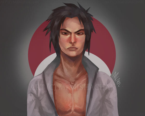 Sasuke: Different Style by ManishaChan