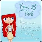 FELICES 15 RENIIIIIIIIIIIIIIIIIIIII!!!!!!!!!