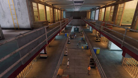 Watch Dogs 2 Alcatraz Cell Block by Beatminister