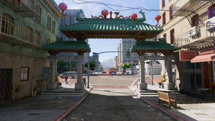 Watch Dogs 2 Chinese Gate by Beatminister