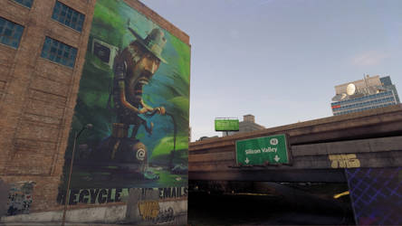 Watch Dogs 2 Mural 2