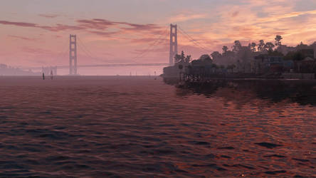 Watch Dogs 2 Golden Gate Bridge by Beatminister