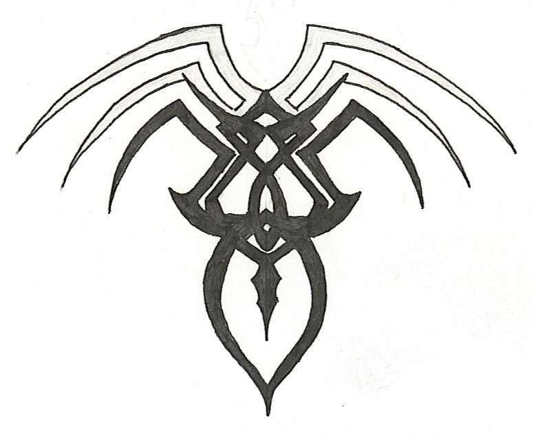 Tribal Spider by eyeofthenyte on DeviantArt