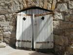 old doors on old hinges