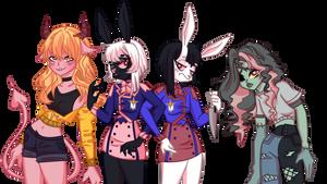 Character sheet A by KirkeChan
