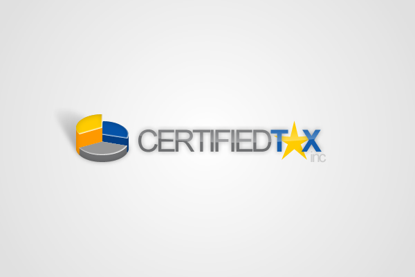 002. certified tax inc. logo by dFEVER