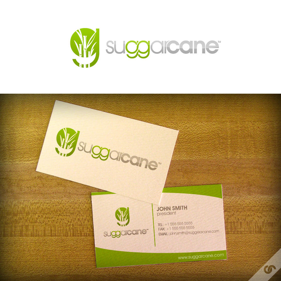 SuggarCane Logo by dFEVER