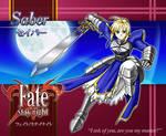 Saber Fate Stay Night fanart