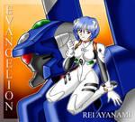 Rei Ayanami with EVA 00