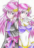 Two Lacus by nakoshinobi