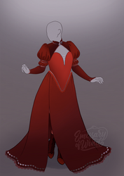 Outfit Adoptable #1: Pomegranate