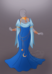 Outfit Adoptable #2: Blue Moon