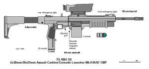 TS-1083-5D Assault Rifle