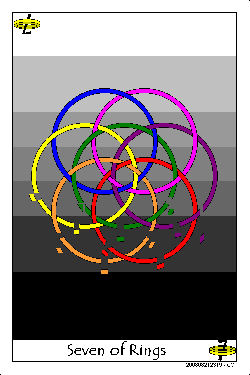 Seven of Rings by scifibug