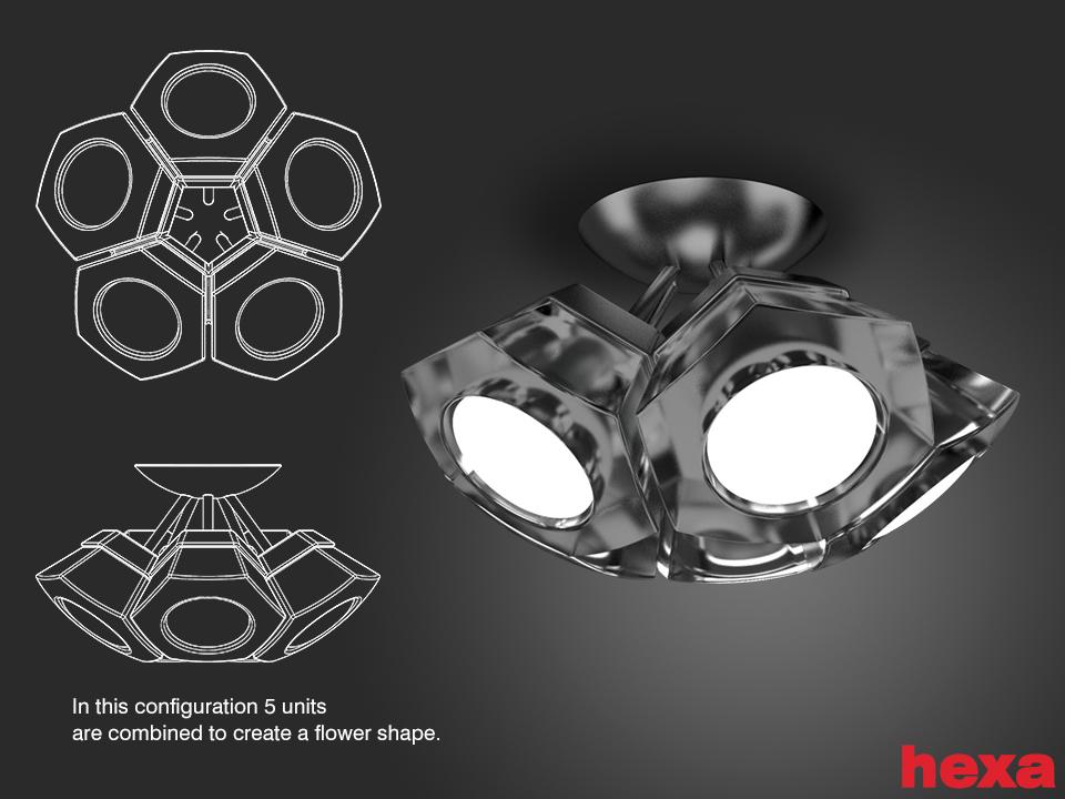 HexaX5-flower by migrainboy
